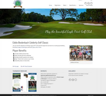 Eddie Biedenbach Celebrity Golf Classic